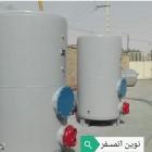منبع کوئلدار عمودی 1000لیتری ورق 5 نوین اتمسفر