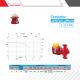 پمپ سیرکولاتور خطی آزاد البرز مدل 1/2 - 1 اینچ AA